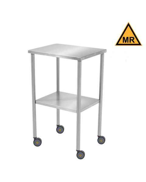 Blickman Model 7830MR Non-Magnetic Howard Instrument Table with Shelf Item #0187830100