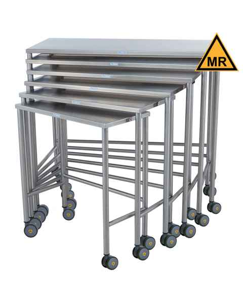 Blickman Non-Magnetic Nested Instrument Table