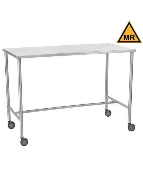 Blickman Non-Magnetic Sawyer Instrument Table with H-Brace