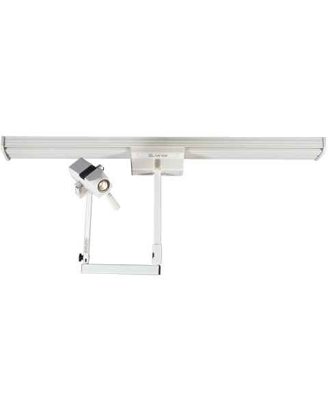 CoolSpot II Single Head on Fastrac Ceiling Mount Exam Light
