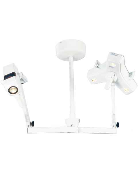 Outpatient II & CoolSpot II Dual Head with Ceiling Mount