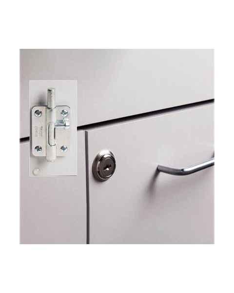 Clinton 066 Optional Door Lock and Inside Latch Combo
