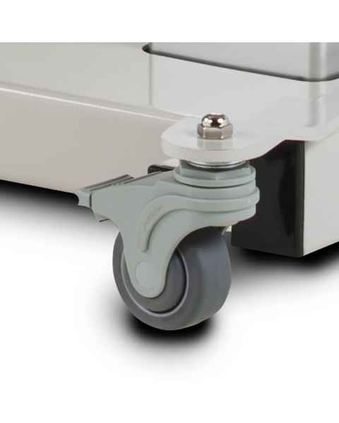 Clinton 087 Optional Heavy Duty Rubber Locking Casters