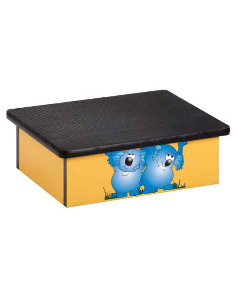 Laminate Foot Stool with Koala Bear Graphic