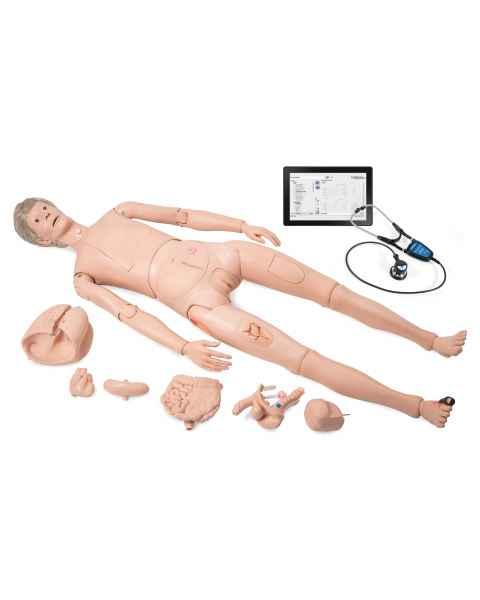 3B Scientific Item No 1022592 Nikki the Nursing Manikin with Auscultation