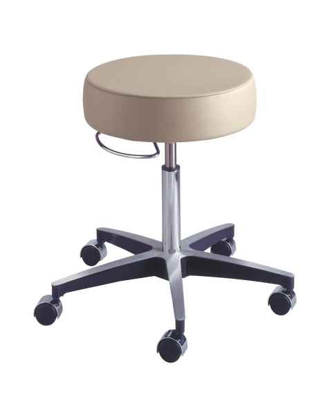 Century Pneumatic Stool with Locking Casters