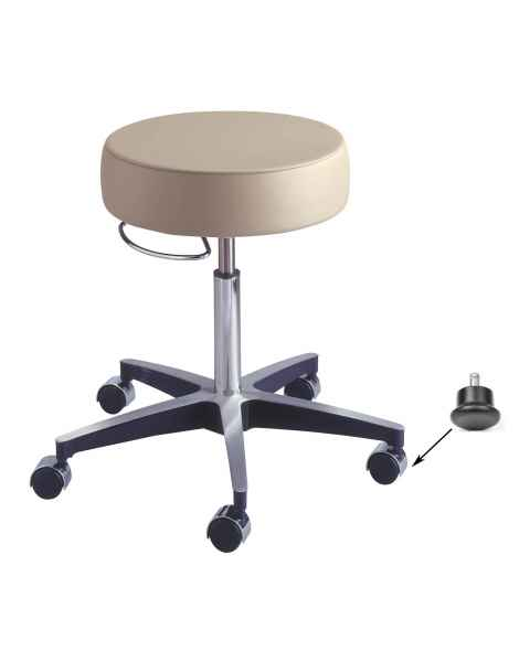 Century Pneumatic Stool with Glides