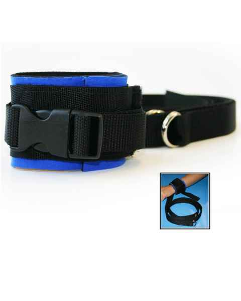 Morrison Medical 1172 Heavy Duty Neoprene Wrist Restraint Blue