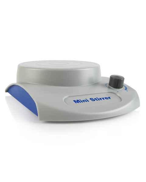 Heathrow Scientific 120595 Mini Magnetic Stirrer - Grey/Blue Color