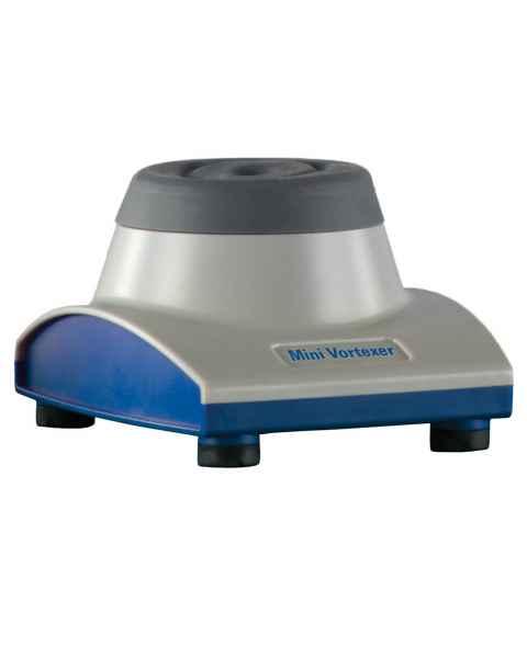 Heathrow Scientific 120598 Mini Vortexer - Grey/Blue