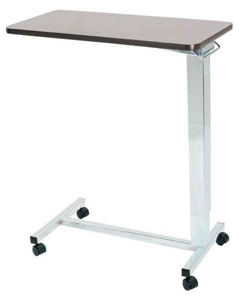 Novum Medical 121A Acute Care Overbed Table Heavy Duty Without Vanity - Spring Assisted Lift Mechanism