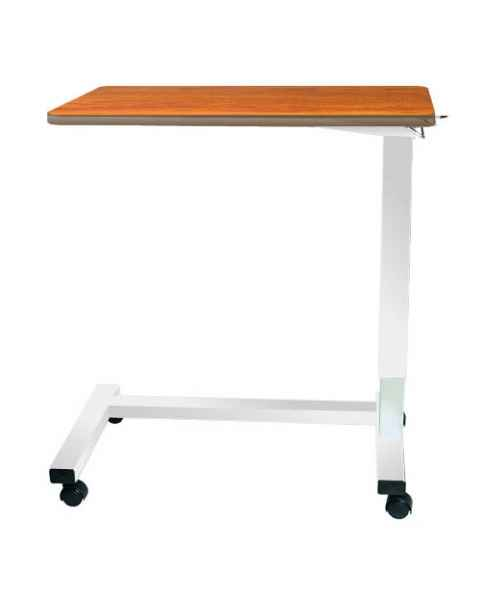Novum Medical Model 124 Acute Care Overbed Table Without Vanity - Spring Assisted Lift Mechanism