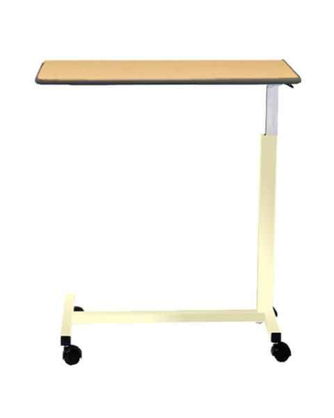 """Novum Medical Model 126 Economy Overbed Table - Built In 1/4"""" Lip with Spring Assisted Lift Mechanism"""