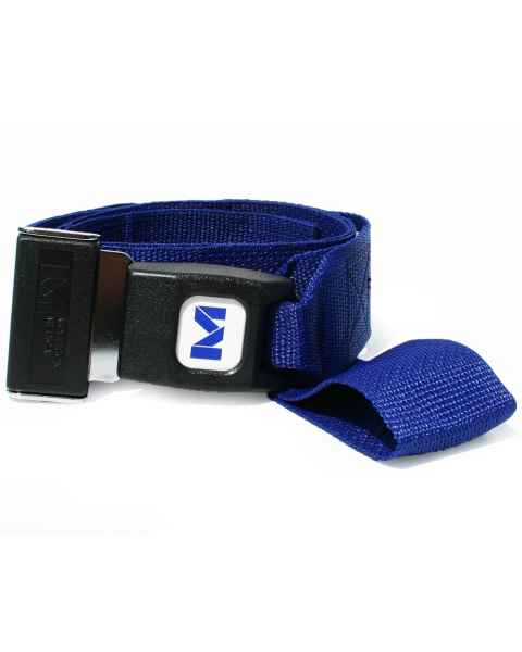 2-Piece Polypropylene Strap with Metal Push Button Buckle & Loop-Lok Ends