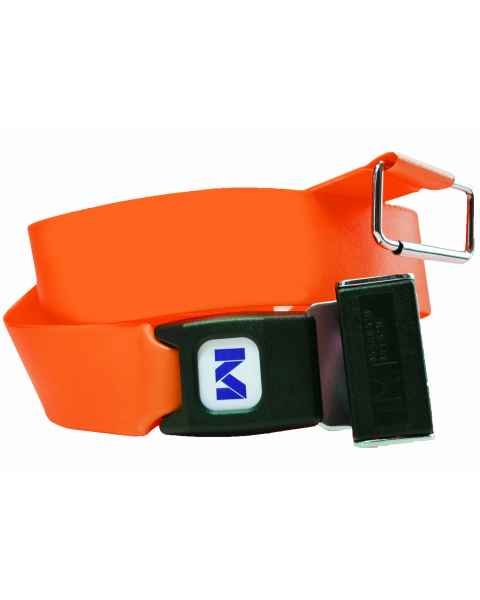 2-Piece Patho-Shield Strap with Metal Push Button Buckle & Metal Roller Loop Ends