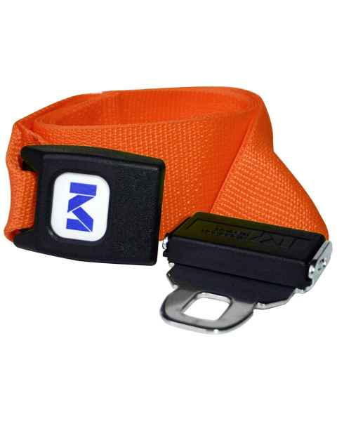 1-Piece Polypropylene Strap with Metal Push Button Buckle