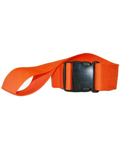 2-Piece Disposable Polypropylene Strap with Plastic Side Release Buckle & Loop-Lok Ends