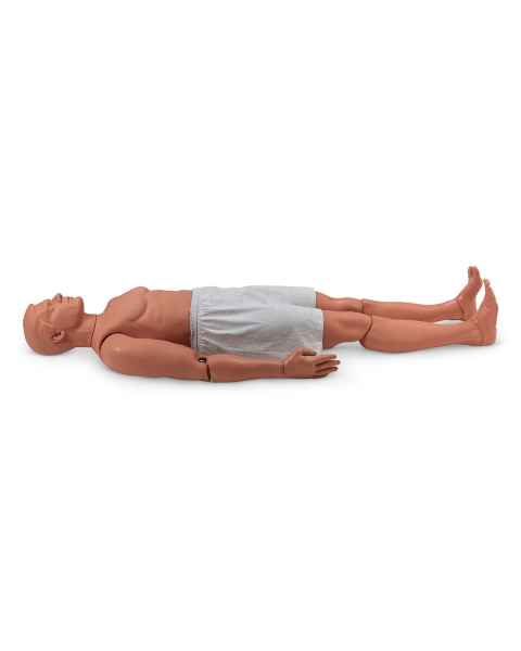 Simulaids Rescue Randy Combat Challenge 165-lb. Weighted Adult Manikin - 55 in. L x 27 in. W x 13 in. D - Light