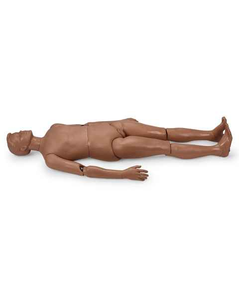 Simulaids Weighted Patient Care Manikin - Dark