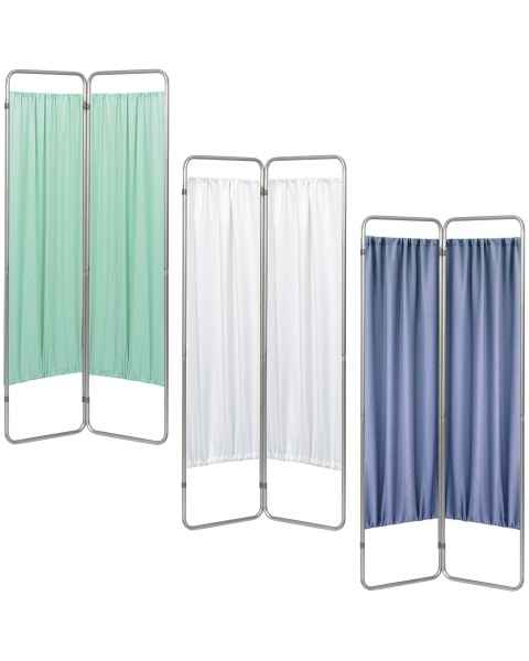 OmniMed 153092 Economy 2 Section Folding Privacy Screen