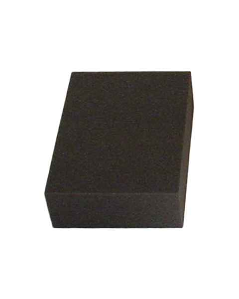 "Rectangle Foam Positioner - 3""H x 7 1/2""W x 10""L"