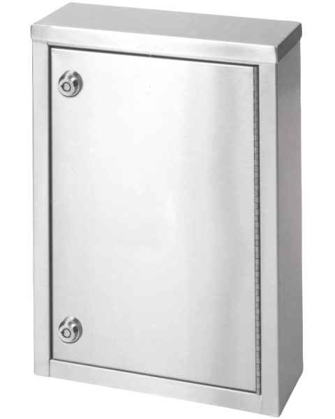 "Small Single Door, Double Lock Narcotic Cabinet - 15"" H x 11"" W x 4"" D"