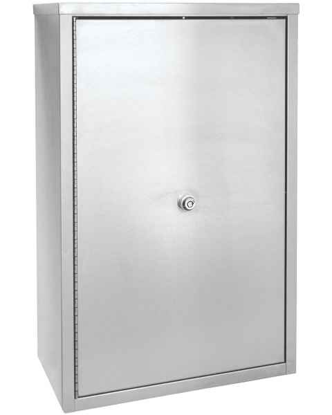 "Double Door, Double Lock Narcotic Cabinet - 15"" H x 11"" W x 4"" D"