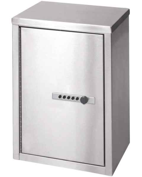 "Narcotic Cabinet with Push Button Lock - 15"" H x 11"" W x 8"" D"