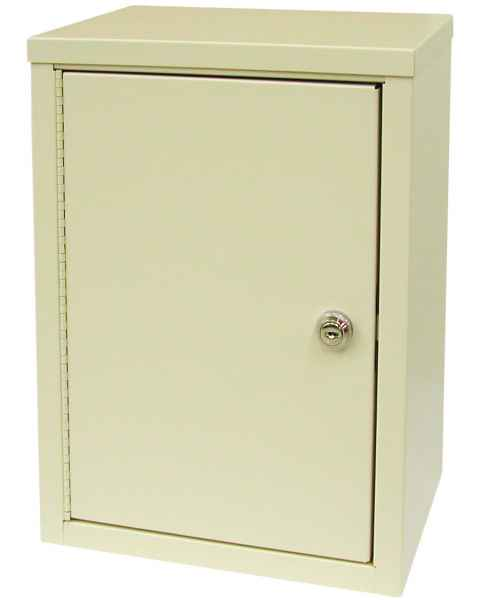 "Medium Economy Narcotic Cabinet, Double Door, Double Lock - 15"" H x 11"" W x 8"" D"