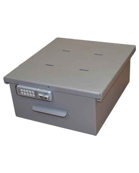 Model 183036 (E-Lock) and 183036AT (Audit Trail E-Lock) Omni Large Aluminum Refrigerator Lock Box