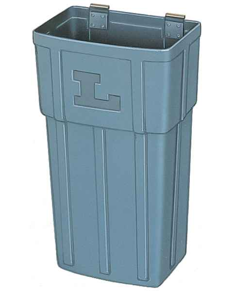 Lakeside Plastic Waste Containers for SS & Plastic Utility Carts