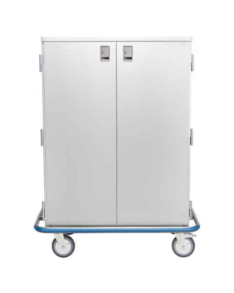 Blickman Stainless Steel Ultra Space Saver Case Cart Model CCC5-19 - Double Solid Doors