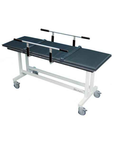 MRI Stretcher with Guard Rails