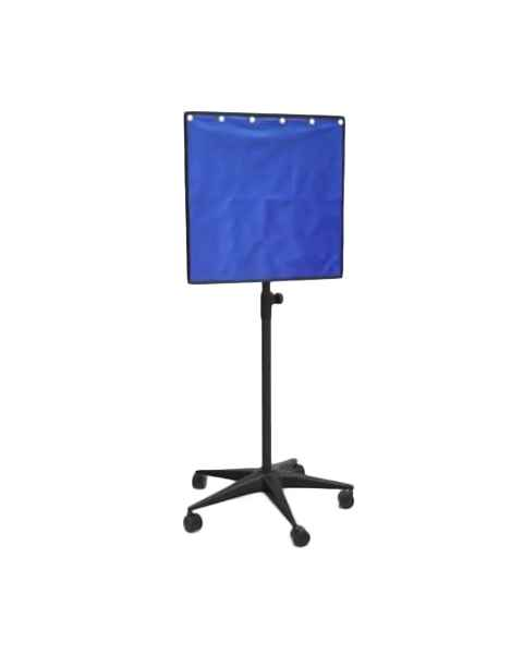 """Mobile Lead Porta-Shield  24"""" W x 24"""" H Panel - Front at 60"""" Height"""