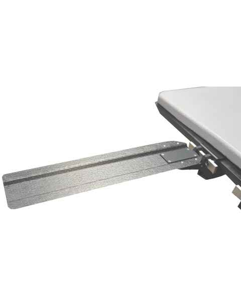 Rail Mount Carbon Fiber Armboard with Quick Release Swivel