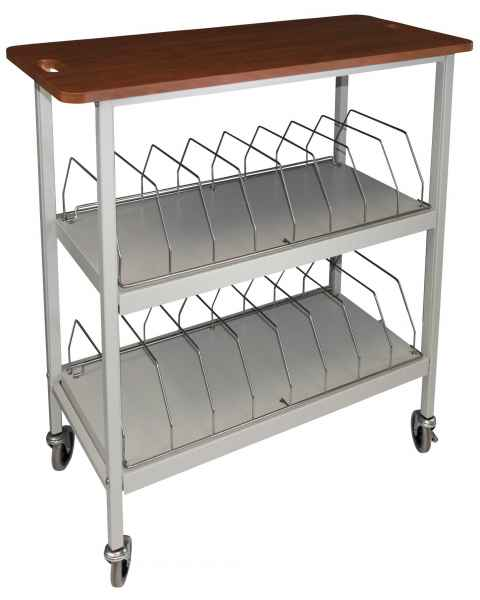 Artisan Vertical Open Rack Cherry Top - 16 Capacity