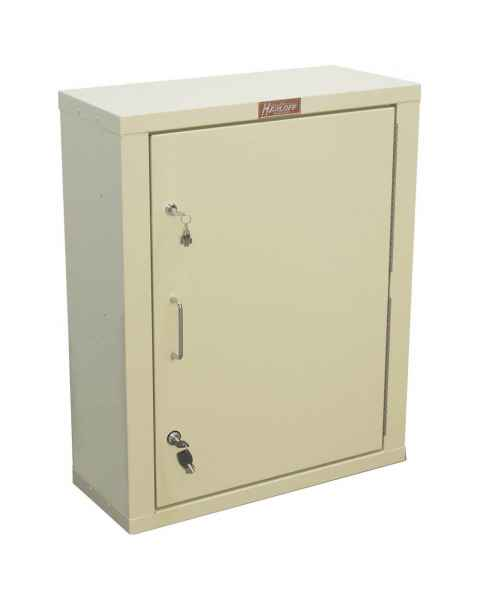 "Harloff 2830AQ Large Narcotics Cabinet, Single Door Double Lock, 29.5""H x 23.5""W x 10.5""D"