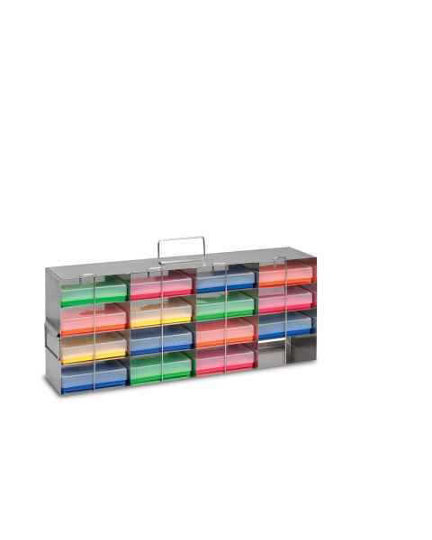 4 x 4 True North Assay Plate Freezer Rack