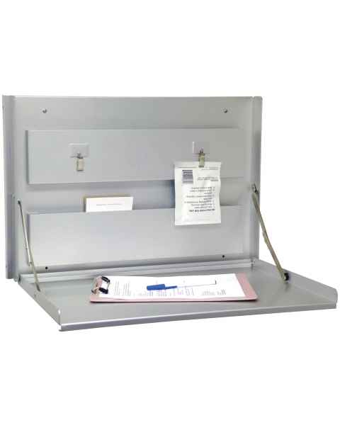 Standard Wall Desk Anodized Aluminum