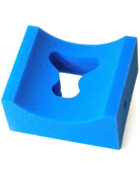 "Prone Concave Head Positioner - 8"" x 9"" x 4"" Thick"