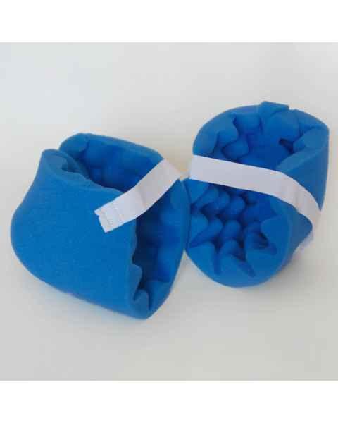 """Disposable Heel Boot Heel Foam Protector - 9"""" x 14"""" x 1.5"""" Thick"""