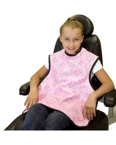 "Dental Patient Apron - Child Size 19"" W x 21"" L"
