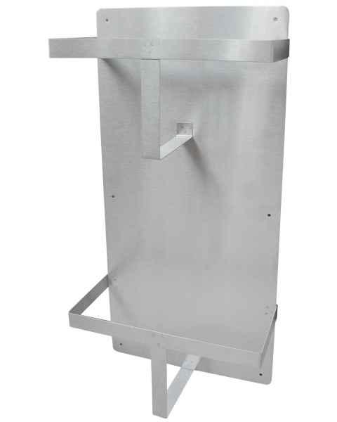 Vertical Double Bedpan Rack - Stainless Steel
