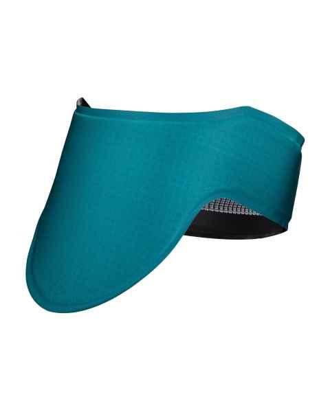 Radgenic Lead Free Fluid Proof Thyroid Shield - 0.35 mm - Teal