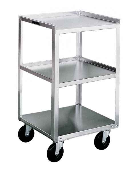 Lakeside Stainless Steel Utility Tables - No Drawers - Three Shelves