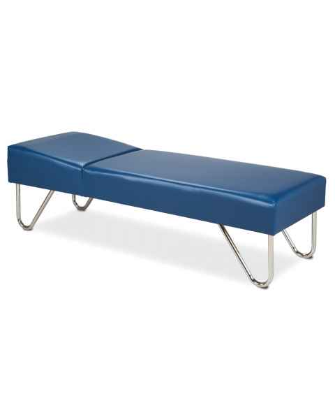 "Recovery Couch with Chrome Legs - 24"" Width"