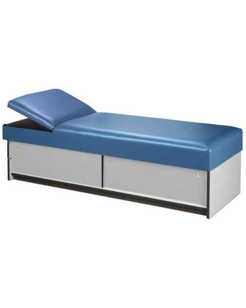 Clinton 3770-15 Recovery Couch with Sliding Doors & Flat Foam Adjustable Headrest