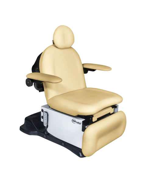 Model 4010-650-100 Power4010 Head Centric Procedure Chair with Programmable Hand Control - Lemon Meringue