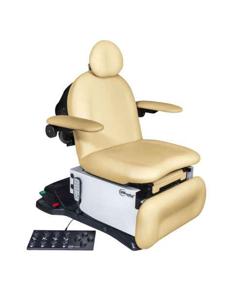 Model 4010-650-300 ProGlide4010 Head Centric Procedure Chair with Wheelbase, Programmable Hand and Foot Controls