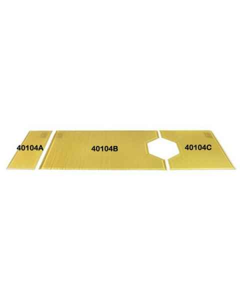 Action O.R. Gel Overlay Foot Pad Only for Segmented O.R. Tables
